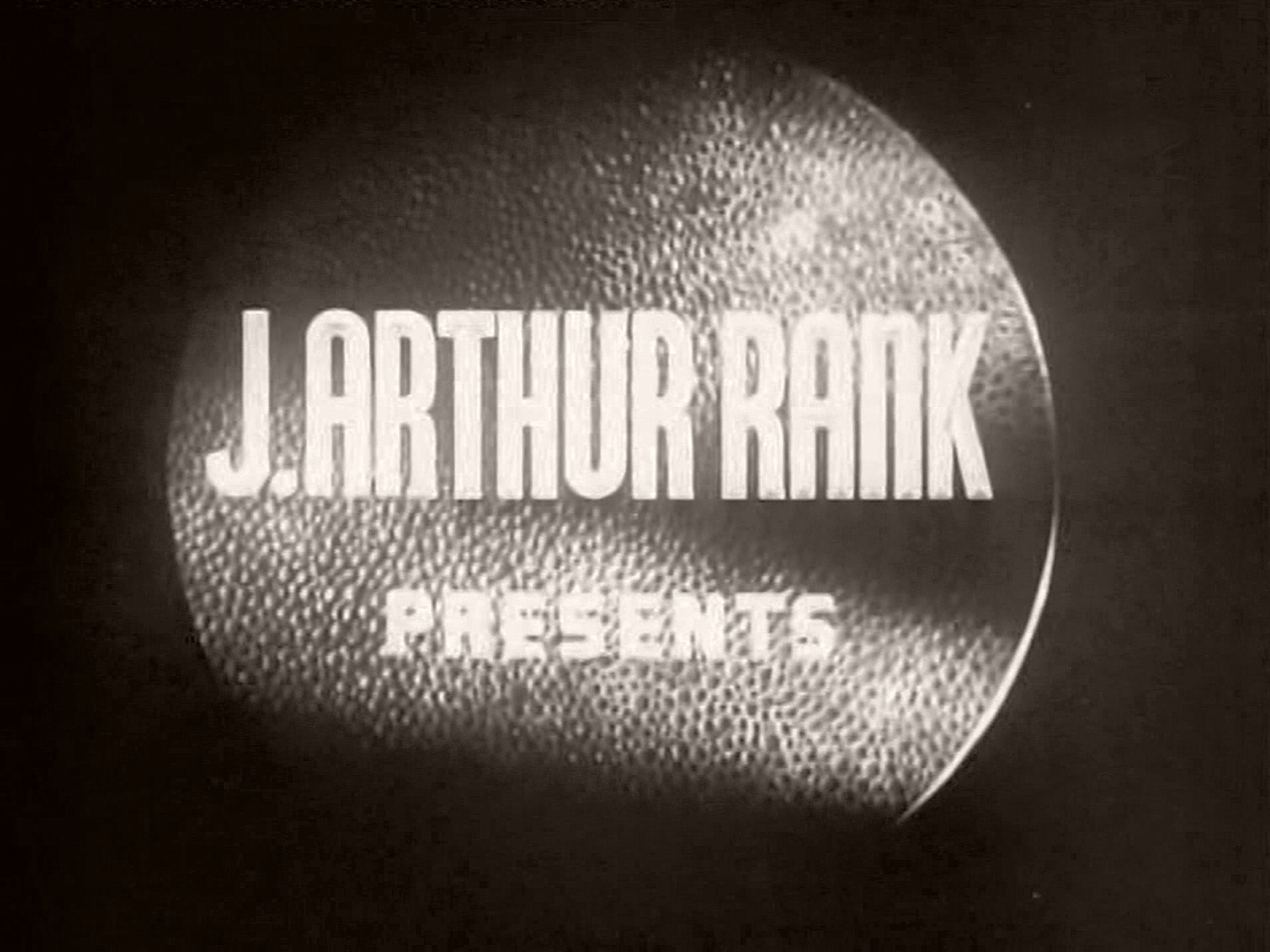 Main title from Holiday Camp (1947) (1).  J Arthur Rank presents