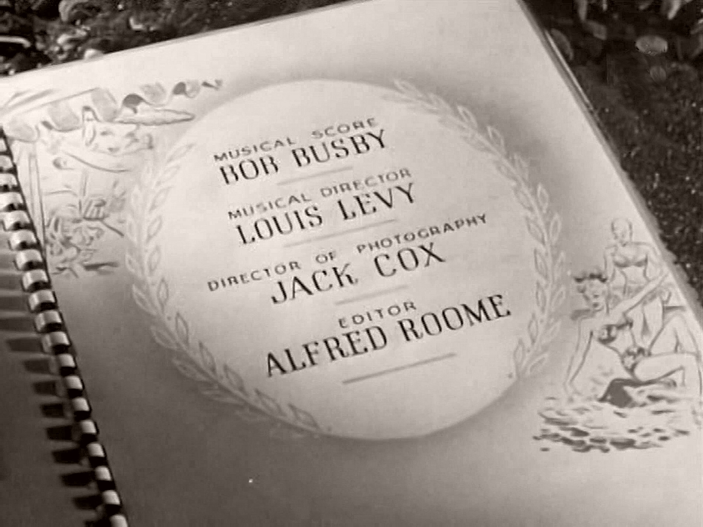Main title from Holiday Camp (1947) (10)