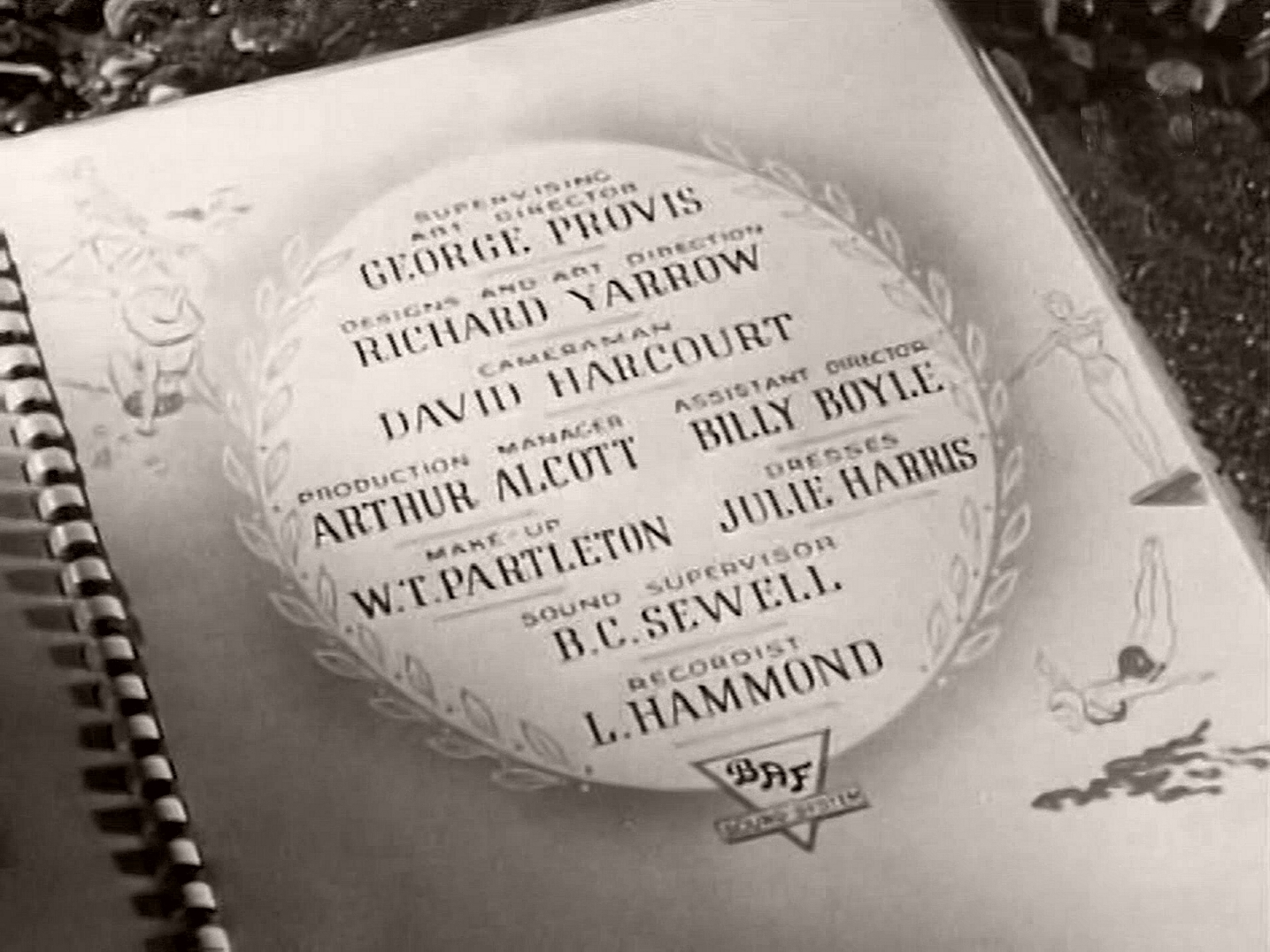 Main title from Holiday Camp (1947) (11)