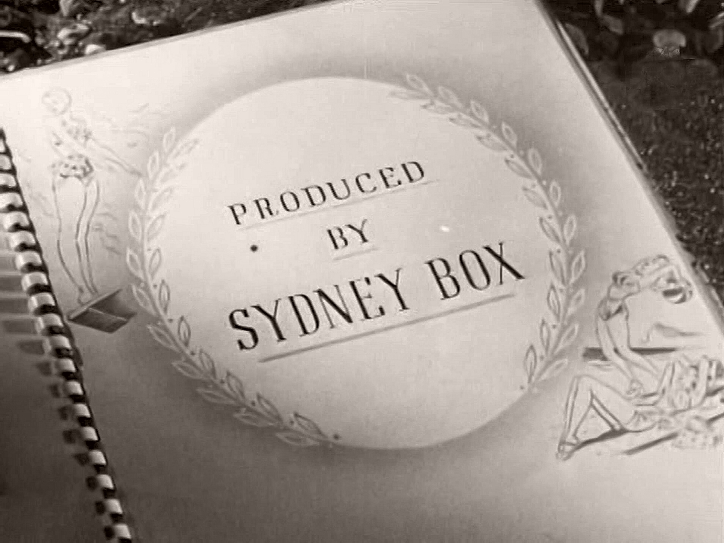 Main title from Holiday Camp (1947) (12).  Produced by Sydney Box