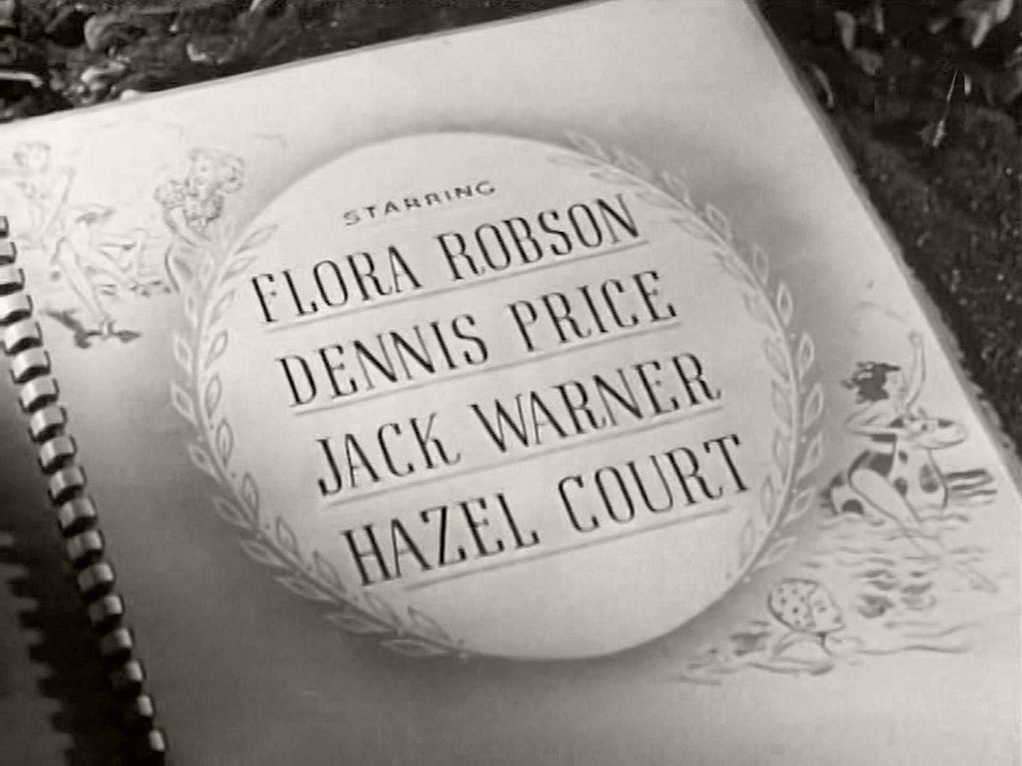 Main title from Holiday Camp (1947) (4).  Starring Flora Robson Dennis Price. Jack Warner Hazel Court