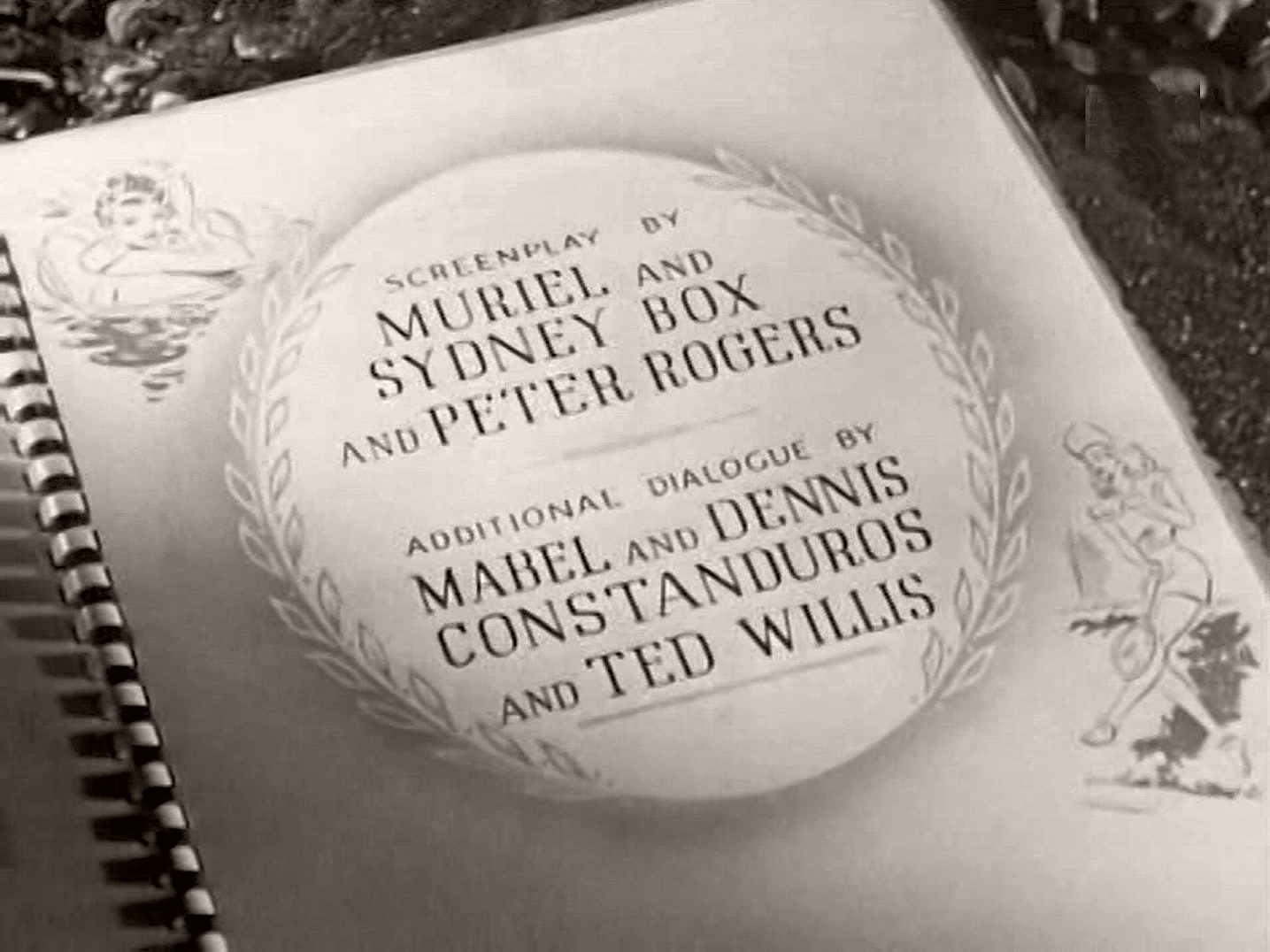 Main title from Holiday Camp (1947) (9).  Screenplay by Muriel and Sydney Box and Peter Rogers