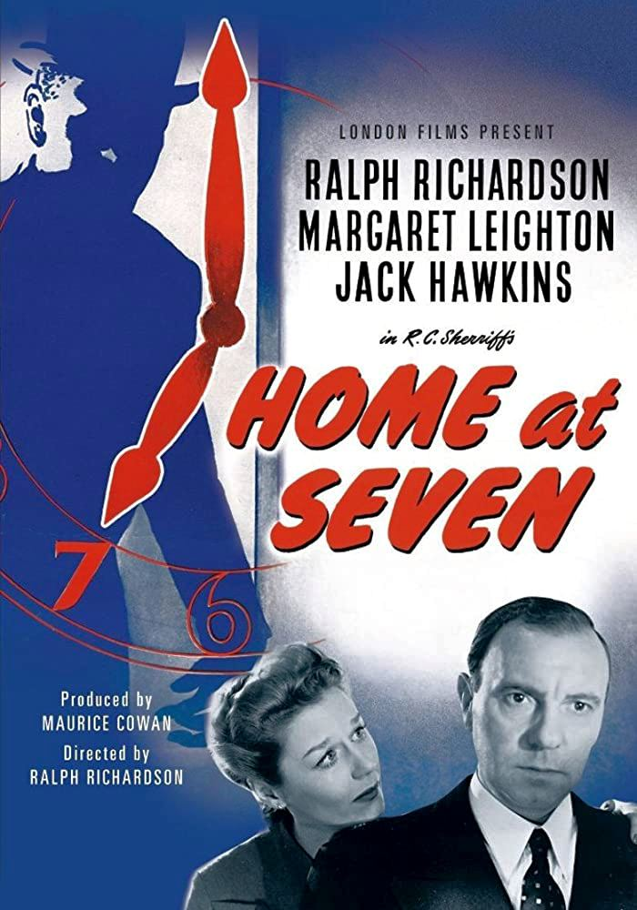 Poster from from Home at Seven (1952) (1)