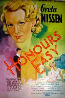 Poster for Honours Easy (1935) (1)