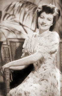 Margaret Lockwood (as Edie Story) in a photograph from I'll Be Your Sweetheart (1945) (4)