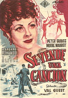 Spanish poster for I'll Be Your Sweetheart (1945) (1)