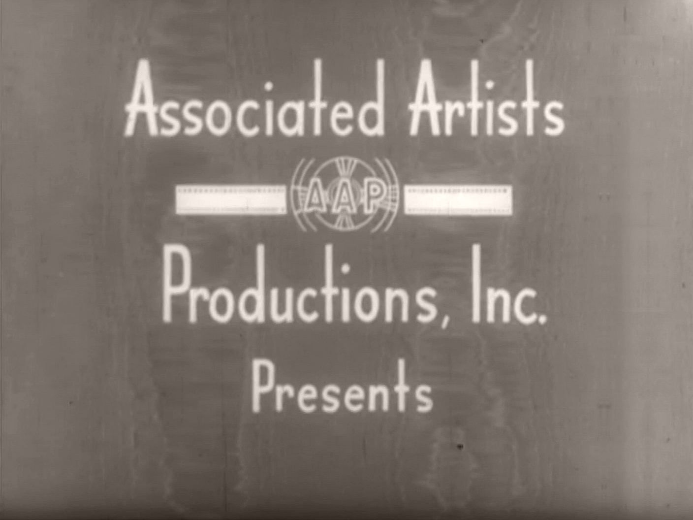 Main title from I'll Turn to You (1946) (1). Associated Artists Productions, Inc presents
