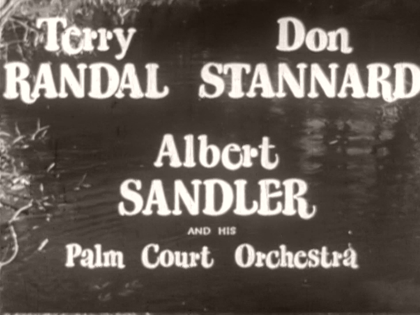 Main title from I'll Turn to You (1946) (2). Terry Randall, Don Stannard, Albert Sandler and his Palm Court Orchestra