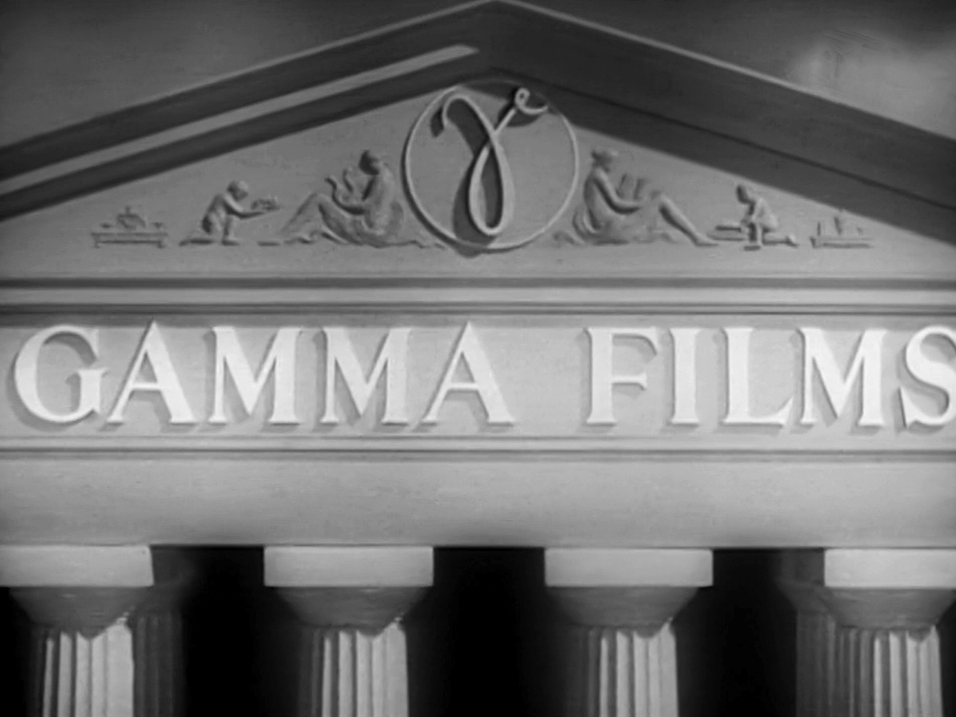 Main title from I Met a Murderer (1939) (4). Gamma Films