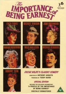 The Importance of Being Earnest DVD from Carlton, 2001