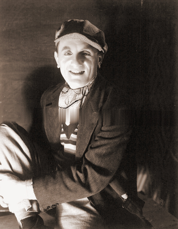 Arthur Tracy plays a great singer who becomes a tramp for the sake of romance in British National's Interval for Romance (aka The Street Singer), directed by Jean de Marguenat