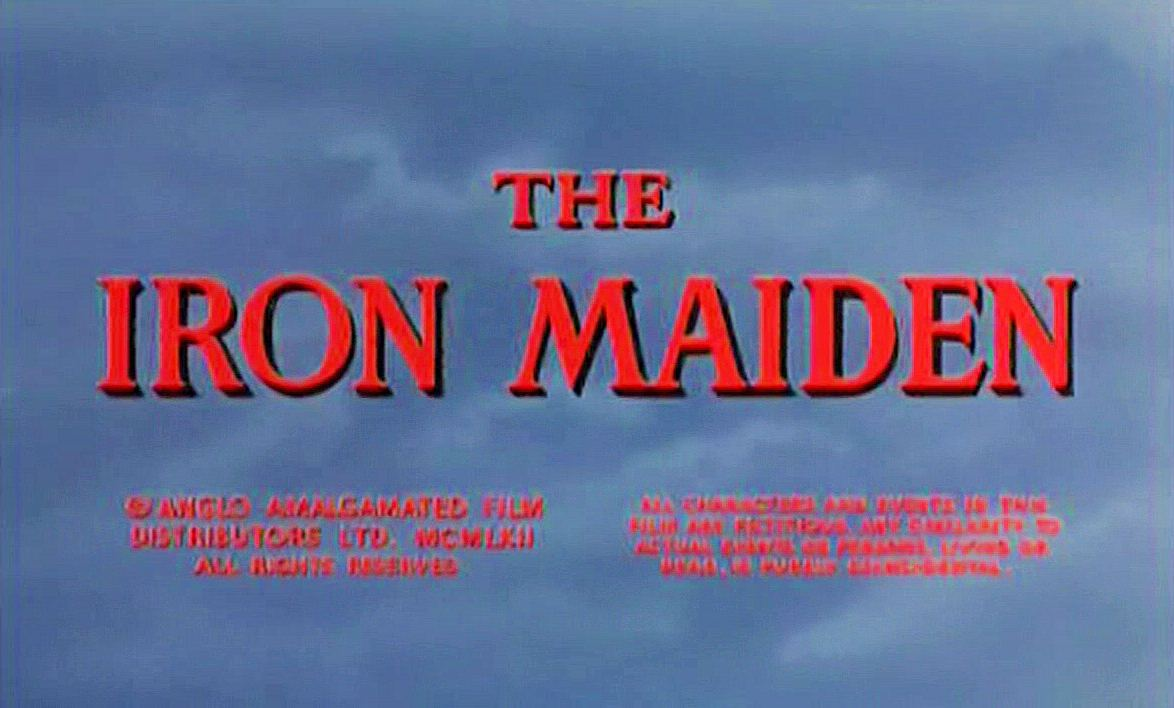 Main title from The Iron Maiden (1962)