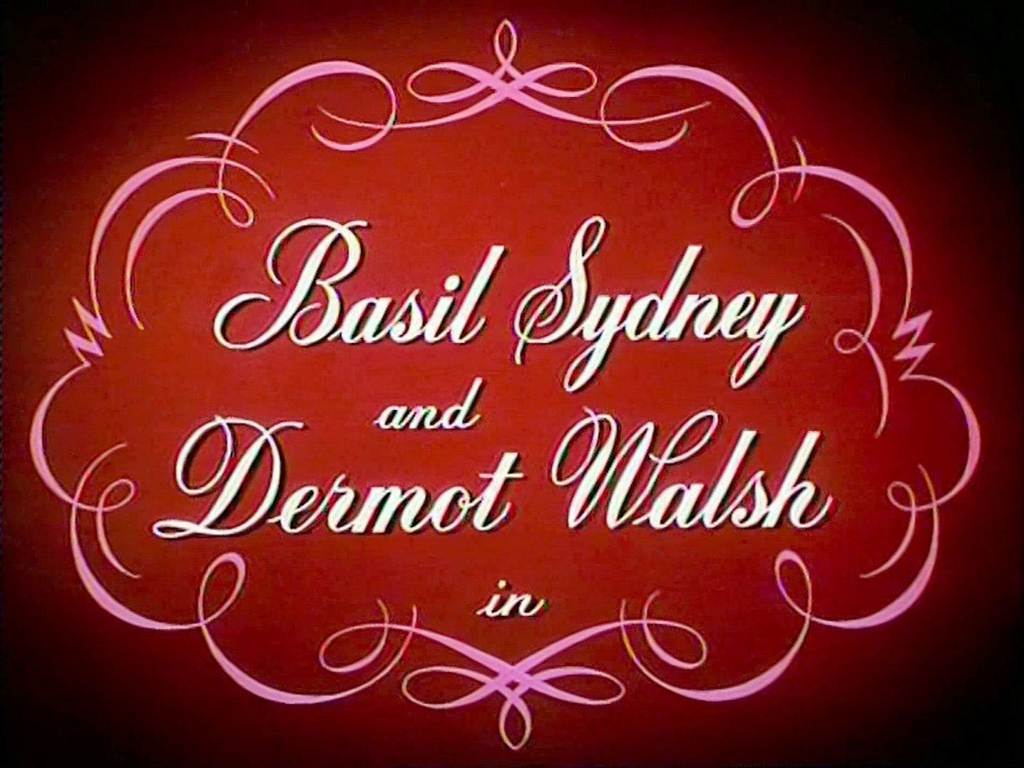 Main title from Jassy (1947) (6). Basil Sydney and Dermot Walsh