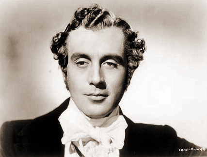 Dennis Price (as Christopher Hatton) in a photograph from Jassy (1947) (28)