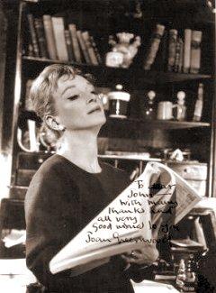 Joan Greenwood (as Hedda Gabler) in a photograph from Hedda Gabler (1960)