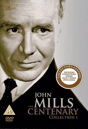 The John Mills Centenary Collection 1 DVD from ITV Studios