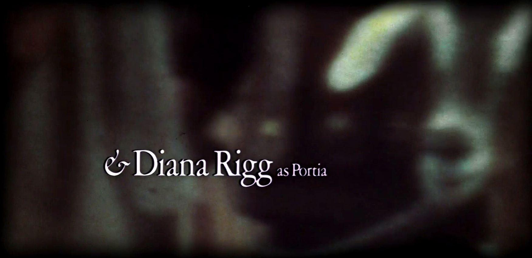 Main title from Julius Caesar (1970) (10)  And Diana Rigg as Portia
