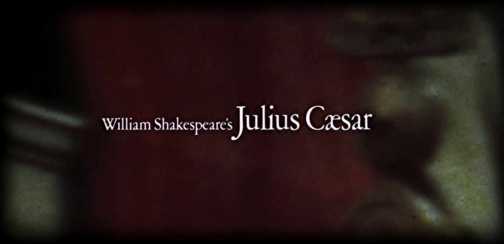 Main title from Julius Caesar (1970) (3)  William Shakespeare's Julius Caesar