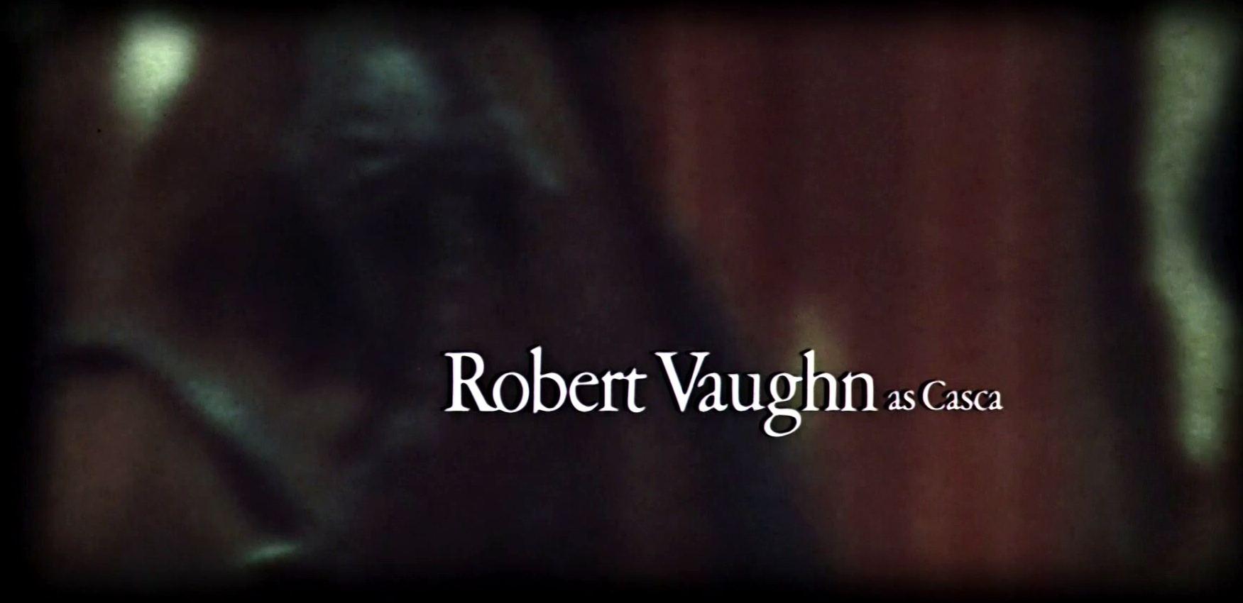 Main title from Julius Caesar (1970) (8)  Robert Vaughan as Casca