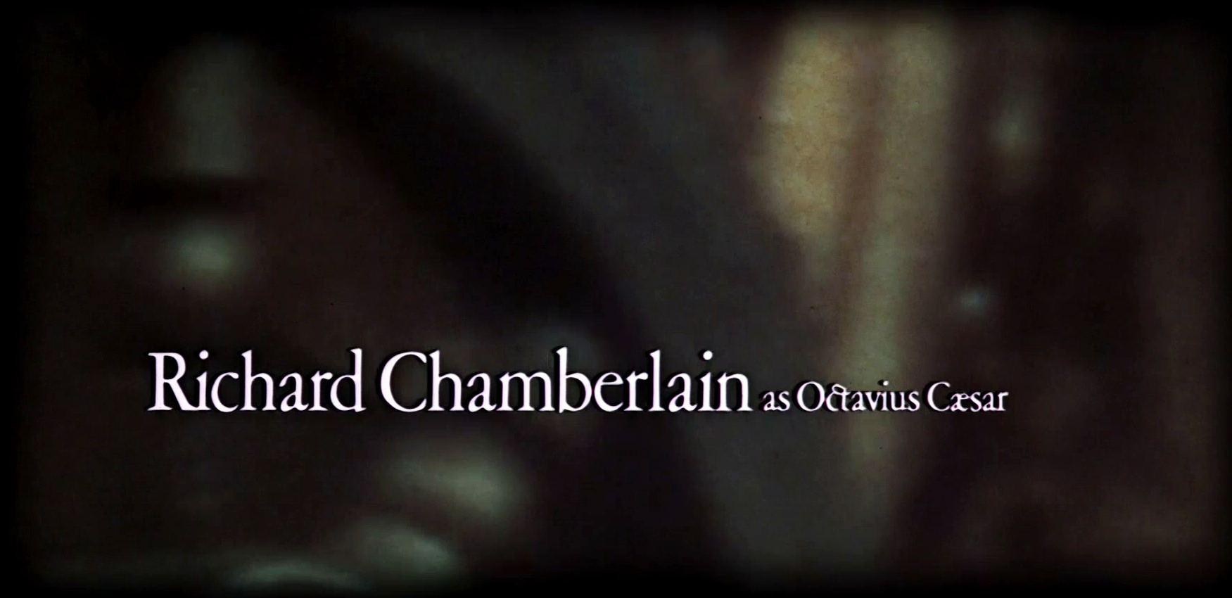 Main title from Julius Caesar (1970) (9)  Richard Chamberlain as Octavius Caesar