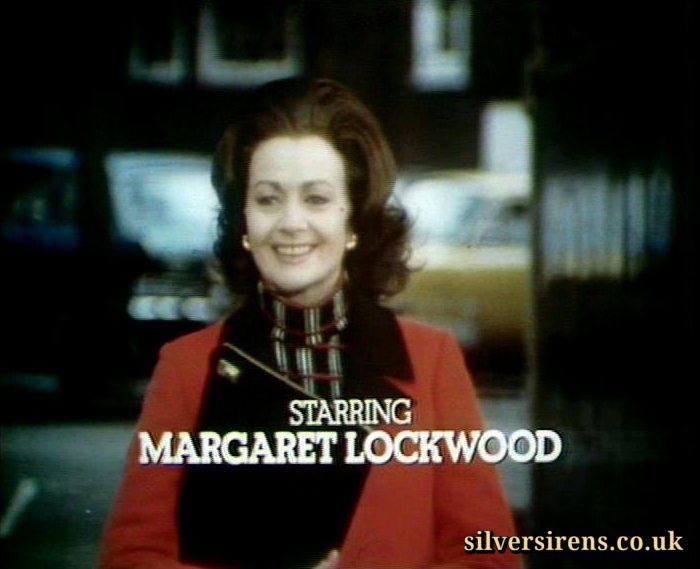 Margaret Lockwood (as Harriet Peterson) in a screenshot from season 3 of Justice (1971-74)