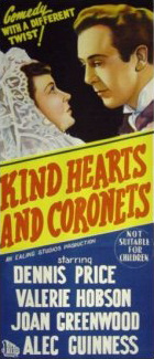 Australian poster for Kind Hearts and Coronets (1949) (1)