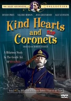 DVD cover of Kind Hearts and Coronets (1949) (3)