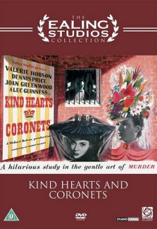 DVD cover of Kind Hearts and Coronets (1949) (5)