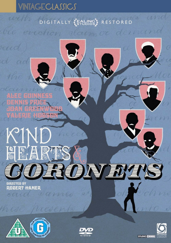 Kind Hearts and Coronets DVD (Optimum, 2011)