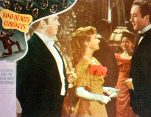 Lobby card from Kind Hearts and Coronets (1949) (10)
