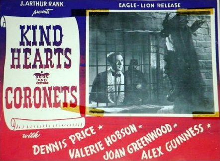 Lobby card from Kind Hearts and Coronets (1949) (2)