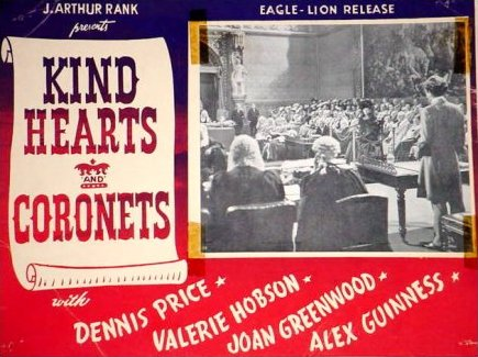 Lobby card from Kind Hearts and Coronets (1949) (3)