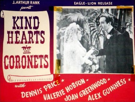 Lobby card from Kind Hearts and Coronets (1949) (4)