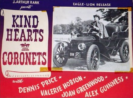 Lobby card from Kind Hearts and Coronets (1949) (5)