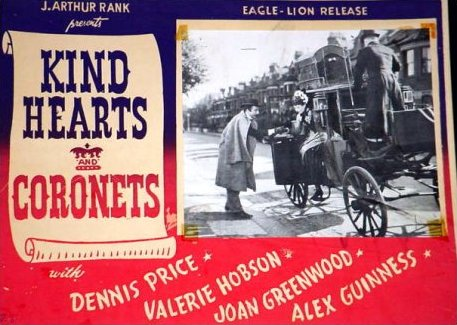 Lobby card from Kind Hearts and Coronets (1949) (6)