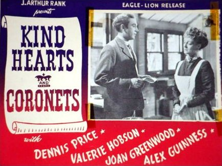 Lobby card from Kind Hearts and Coronets (1949) (7)