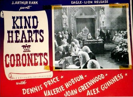 Lobby card from Kind Hearts and Coronets (1949) (8)