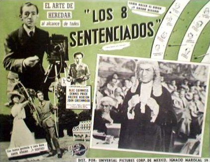 Mexican lobby card from Kind Hearts and Coronets (1949) (3)