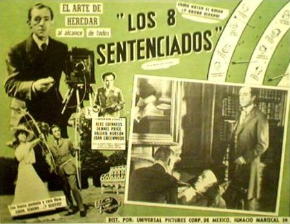 Mexican lobby card from Kind Hearts and Coronets (1949) (4)