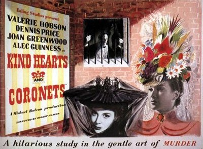 Poster for Kind Hearts and Coronets (1949) (1)