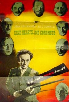 Poster for Kind Hearts and Coronets (1949) (2)