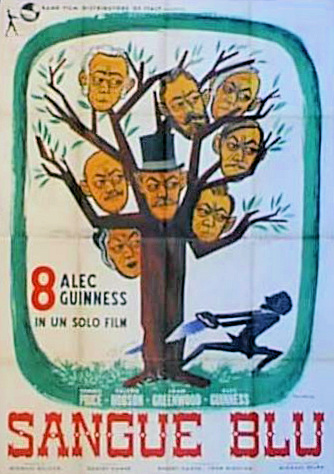Spanish poster for Kind Hearts and Coronets (1949) (2)