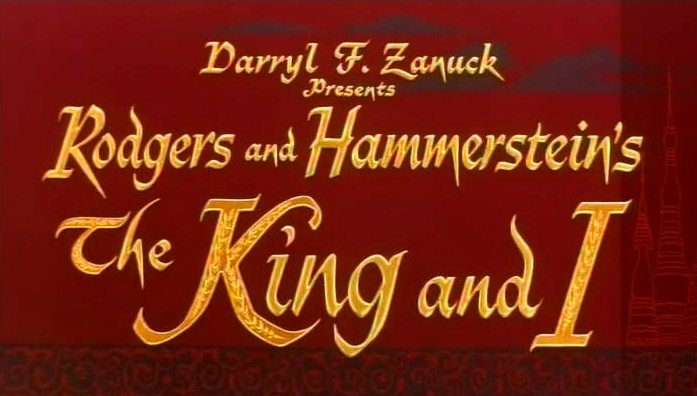 Main title from The King and I (1956)