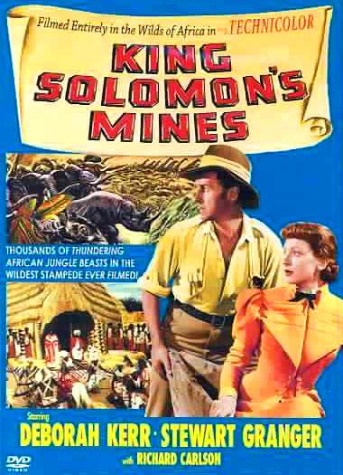 DVD cover of King Solomon's Mines (1950) (1)