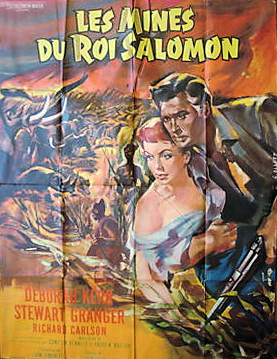 French poster for King Solomon's Mines (1950) (1)