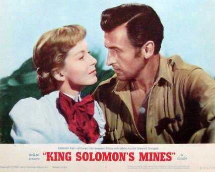 Lobby card from King Solomon's Mines (1950) (2)