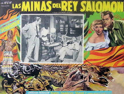 Mexican lobby card from King Solomon's Mines (1950) (3)