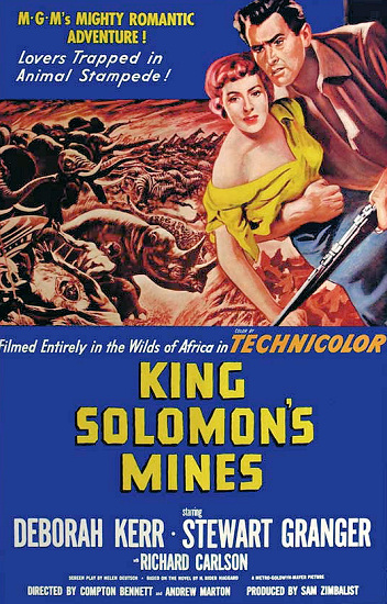 Poster for King Solomon's Mines (1950) (1)