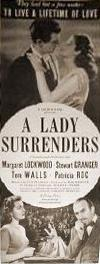 American poster for A Lady Surrenders [Love Story] (1944) (1)