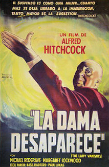 Argentine poster for The Lady Vanishes (1938) (1)